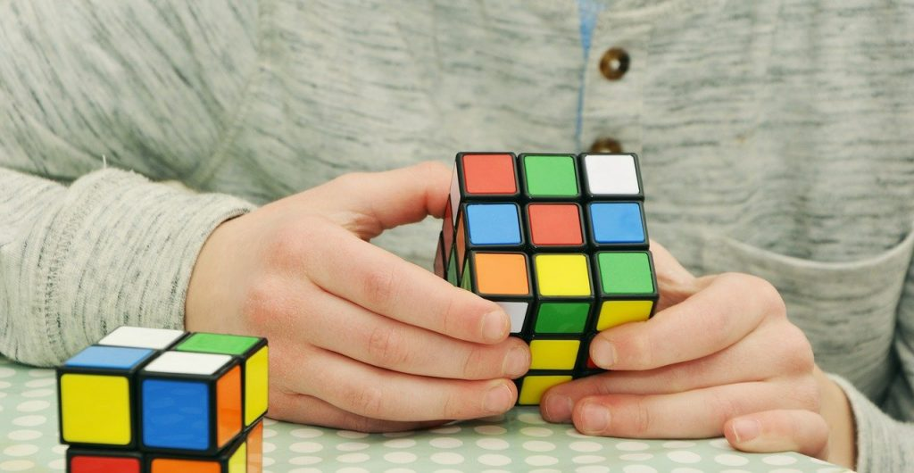 magic cube, patience, tricky