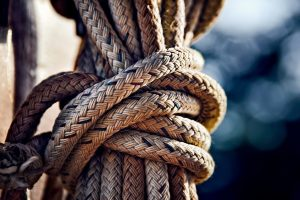 rope, knot, tied